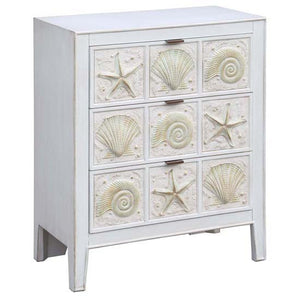 Sanibel Island 3 Drawer Chest By Crestview Collection Cvfzr2183