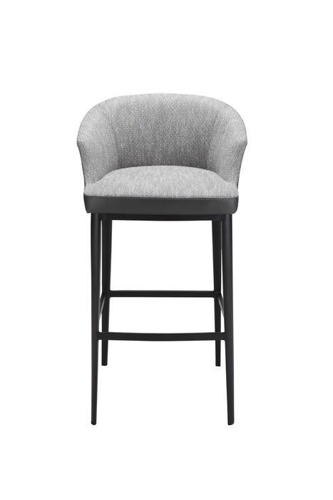 Beckett Bar Stool Grey