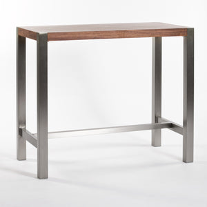 Riva Bar Table Walnut