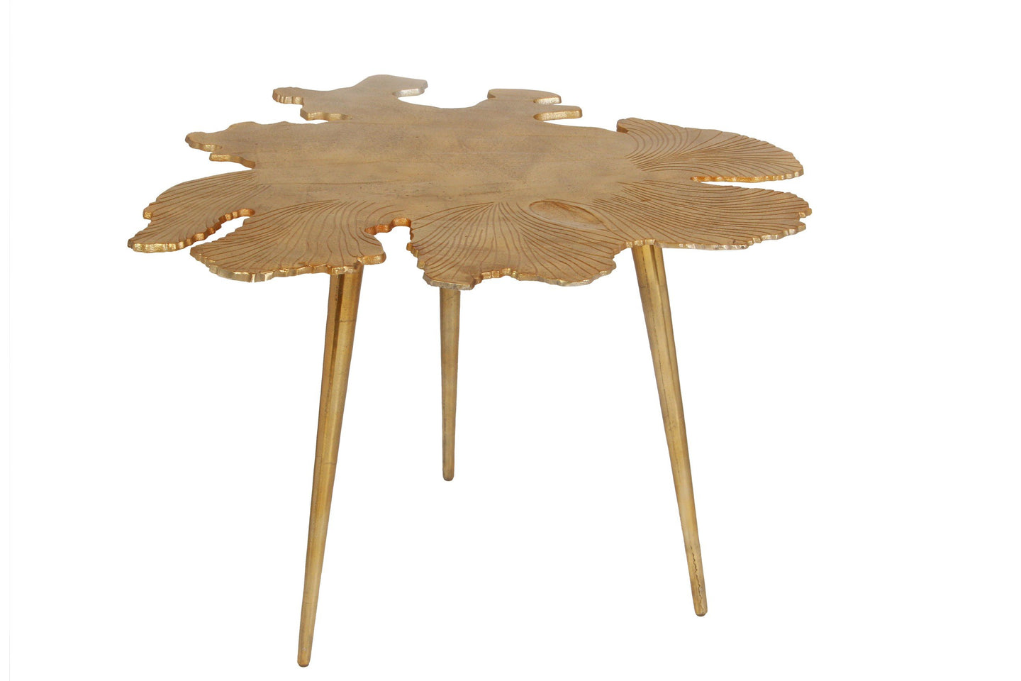 Amoeba Side Table Gold