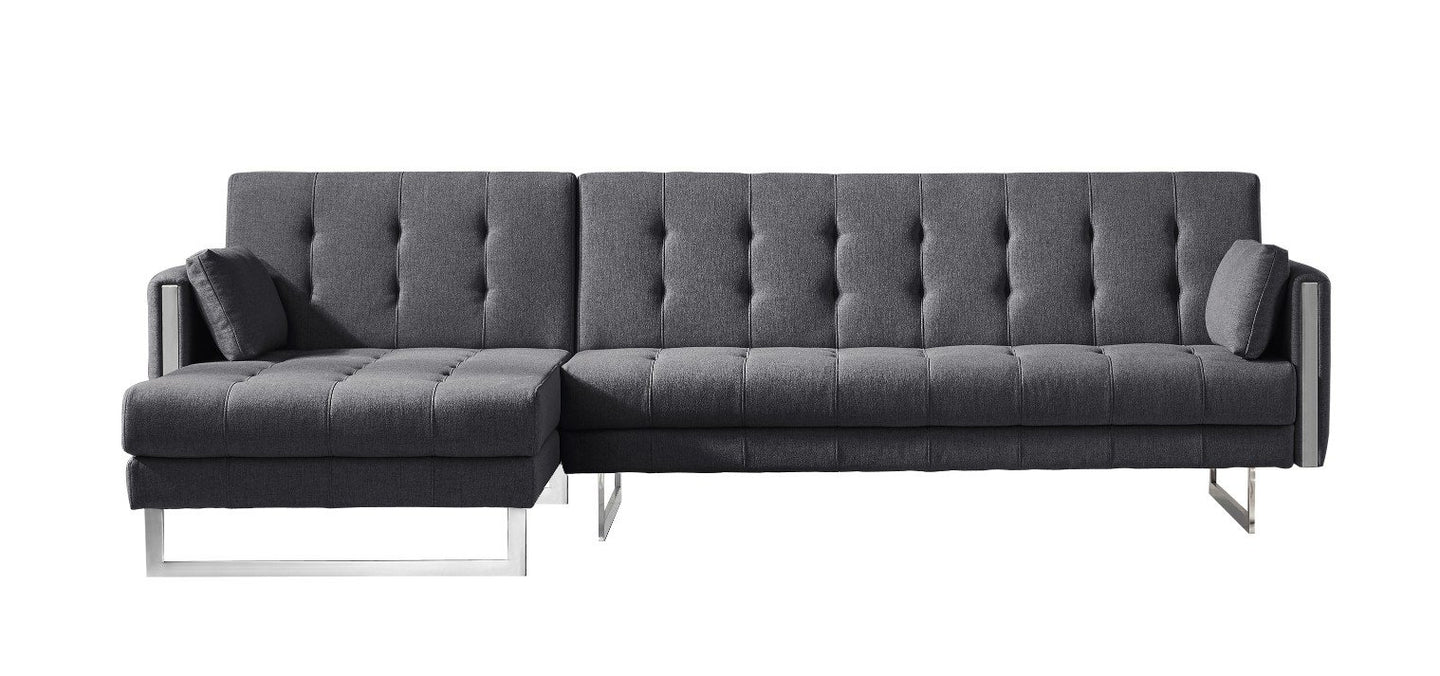 Palomino Sofa Bed Left Dark Grey