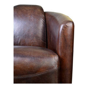 Salzburg Club Chair Brown
