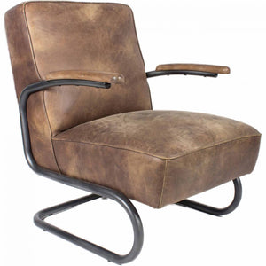 Perth Club Chair Light Brown