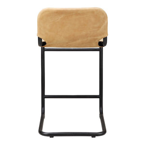 Baker Counter Stool Tan-Set Of Two