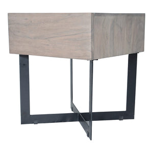 Tiburon Side Table Pale Grey