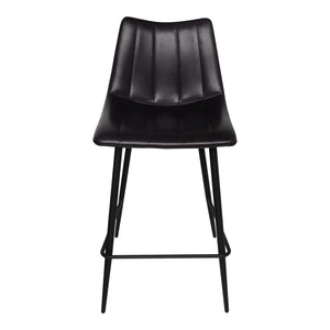 Alibi Counter Stool Black-Set Of Two