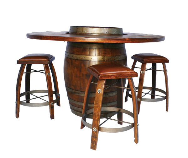 Wine Barrel Bistro Table by 2 Day Designs WV103*