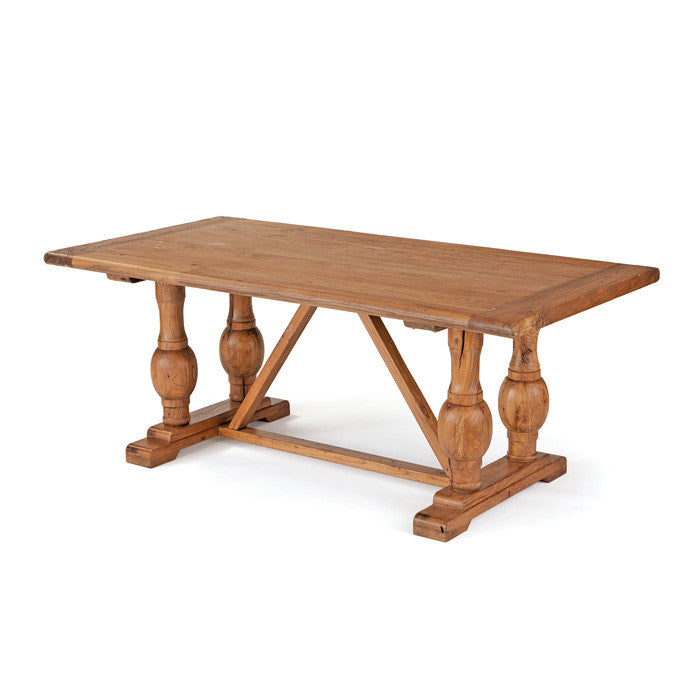 Large Wood Familia Dining Table by Go Home Ltd. 20141