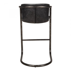 Freeman Barstool Antique Black-Set Of Two
