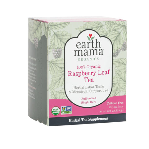 Earth Mama Organic Red Raspberry Leaf Tea
