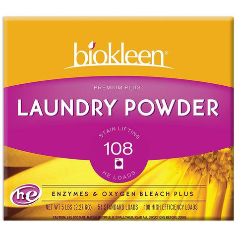 Biokleen Premium Plus Laundry Powder 5lbs (Available In-Store Only)