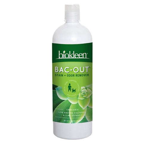 11f369b200af Biokleen Bac-Out Stain   Odor Remover 32oz (Available In-Store Only) – Bean  Tree Baby