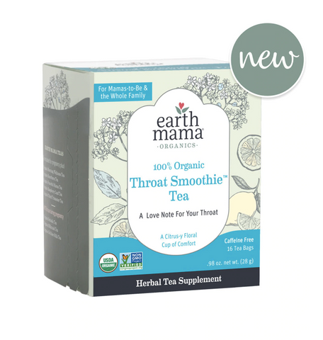 Earth Mama Organic Throat Smoothie Tea