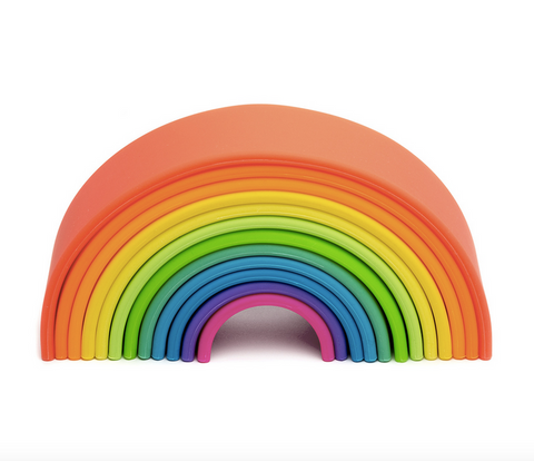 Dena Nesting/Stacking Large Rainbow Toy