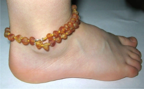 Inspired by Finn Amber Adjustable Anklet/Bracelet (Children's Size)