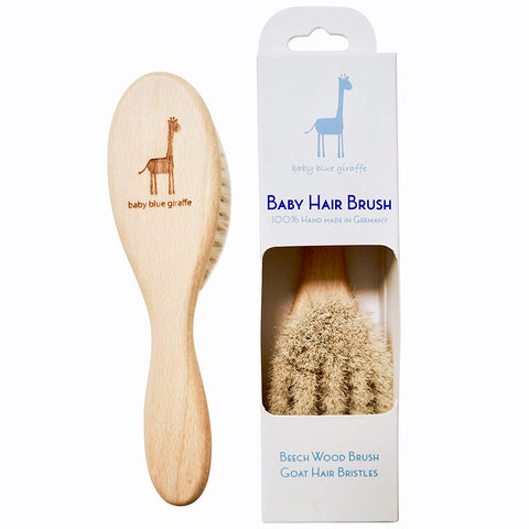 Baby Blue Giraffe Hair Brush