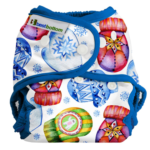Best Bottom One Size All-in-Two Diaper Shell (Snap Closure) *CLEARANCE*