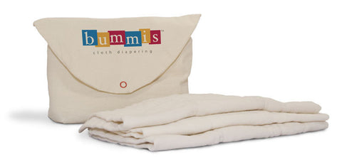 Bummis Organic Cotton Prefold Diaper (6 Pack)