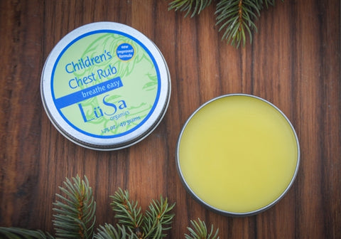 LuSa Organics Breathe Easy Children's Chest Rub *CLEARANCE*
