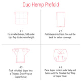 Thirsties Hemp/Cotton Duo Prefold