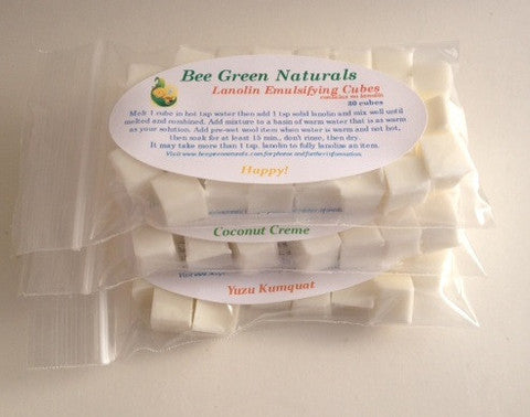 Bee Green Natural for Sloomb Emulsifying Cubes