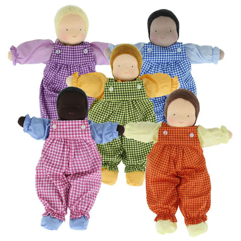 Evi Little Brother Waldorf Dolls