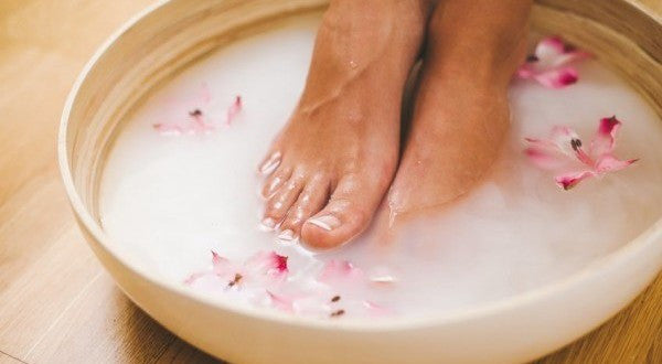 Foot Soak one hour