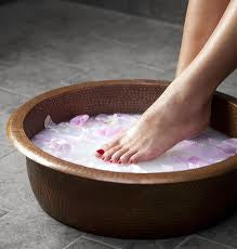 Detox Foot soak with Aromatherapy and Tea