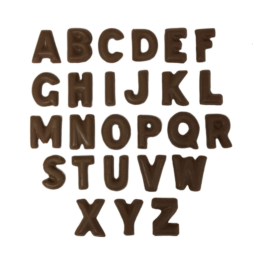Small Rounded Letters A-Z
