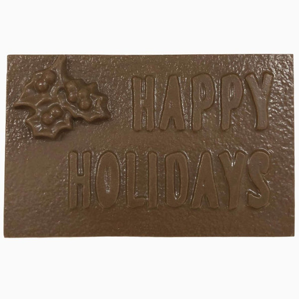 Happy Holidays Bar-Large
