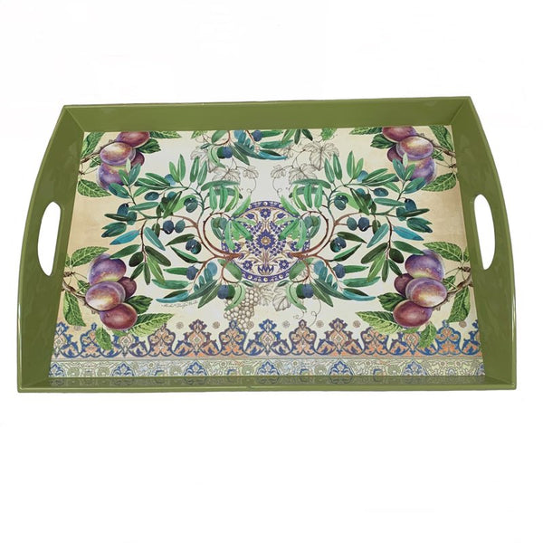 Plum Wooden Tray