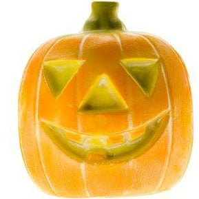 3D Solid Pumpkin-Lustered
