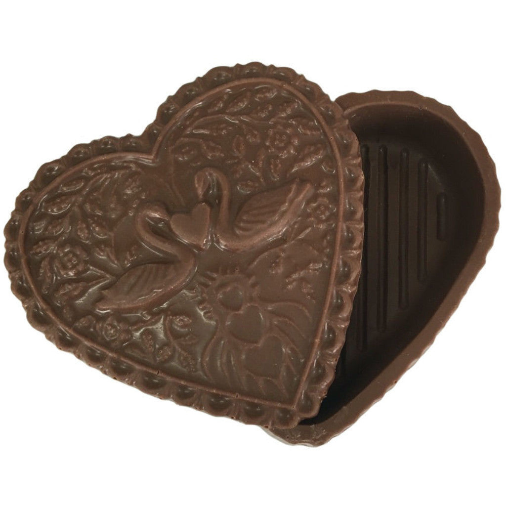 Swan Heart Chocolate Box