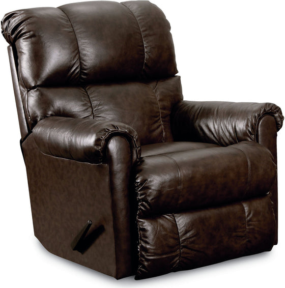 Lane Eureka Top Grain Leather Rocker Recliner with Power Recline (cocoa)