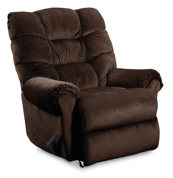 Lane Zip Plush Microfiber Chaise Rocker Recliner