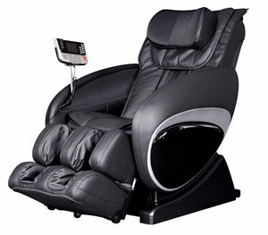 Cozzia 16027 Zero Gravity Shiatsu Massage Chair Black