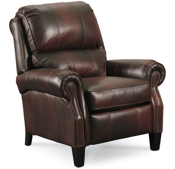 Lane Hogan High Leg Leather Recliner