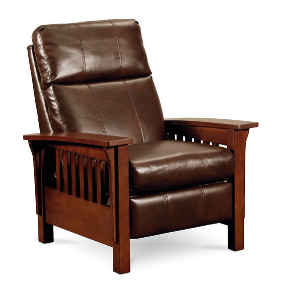 Lane Mission Hi-Leg Leather Recliner 17-83 Flesh