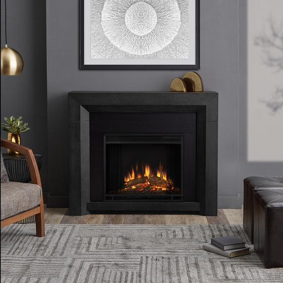 REAL FLAME 3001E HUGHES ELECTRIC FIREPLACE