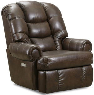 4501 Comfort King Wallsaver Power Recliner in Leather with Heat & Massage