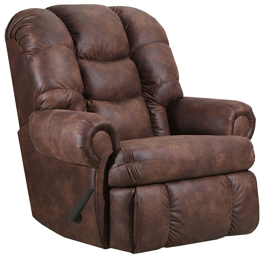 4501 Comfort King Chaise Wallsaver Recliner - Walnut