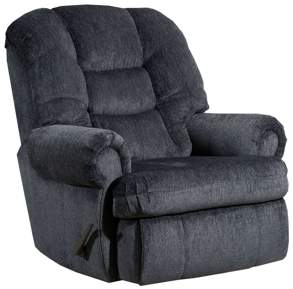 4501 Comfort King Chaise Wallsaver Recliner - Charcoal