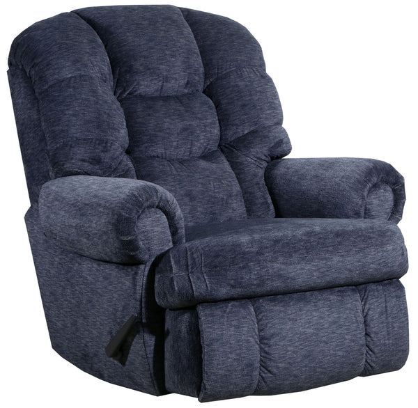 4501 Comfort King Recliner Large Recliner Chair Blue