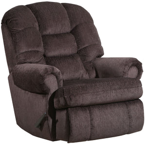 4501 Comfort King Chaise Wallsaver Recliner - Chocolate