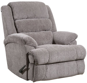 4502 Comfort King Chaise Wallsaver Recliner - Pewter