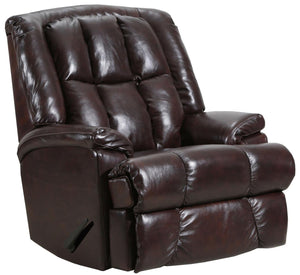 4503 Comfort King Chaise Wallsaver Recliner - Chestnut