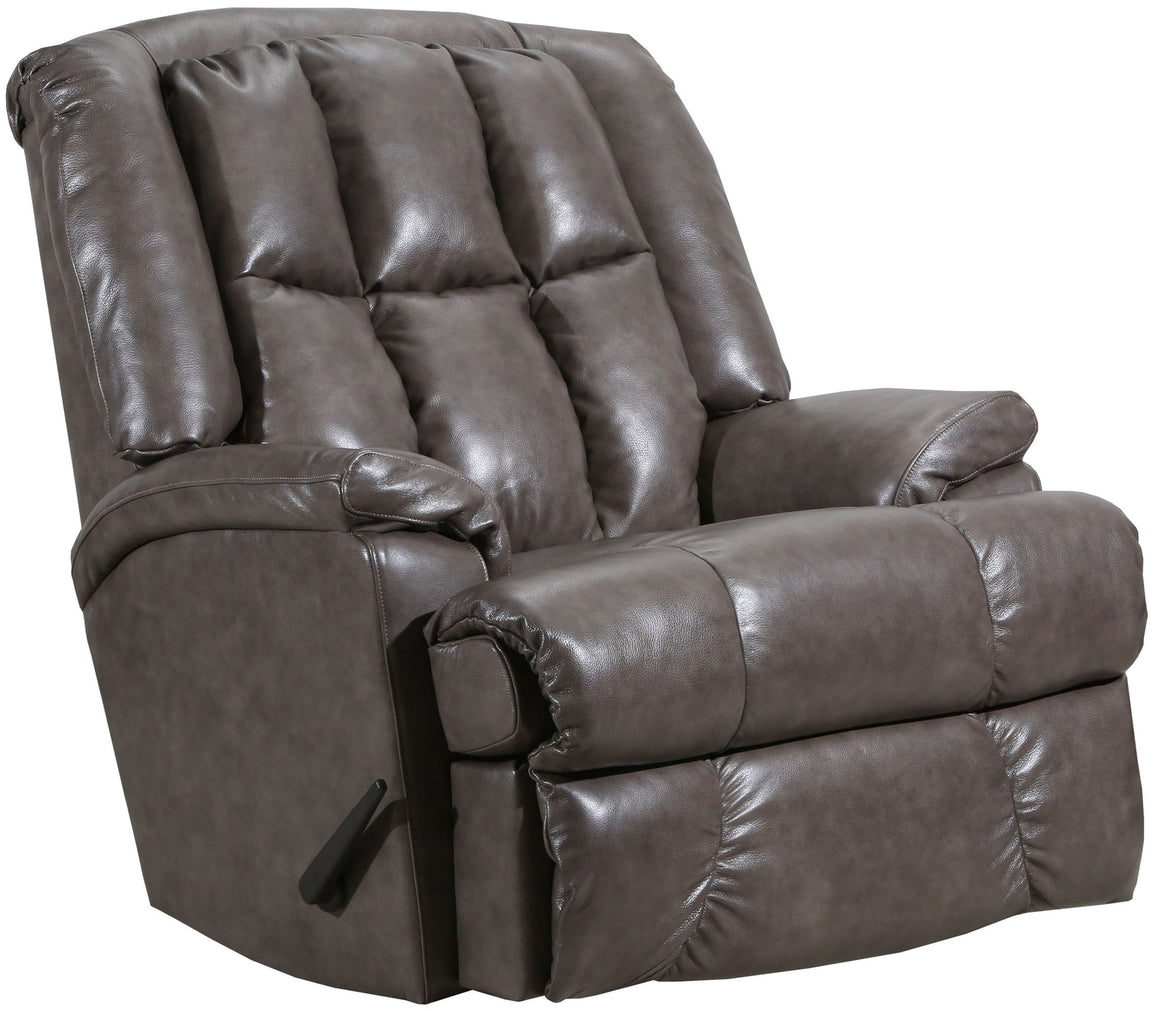 4503 Comfort King Chaise Wallsaver Recliner - Gray