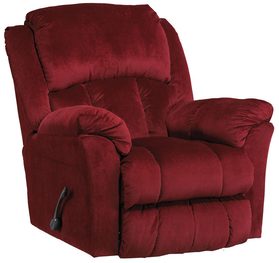 Catnapper 4516 Gibson Swivel Glider Recliner Berry