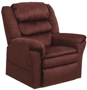 Preston 4850 Pillowtop Lift Chair & Recliner Berry