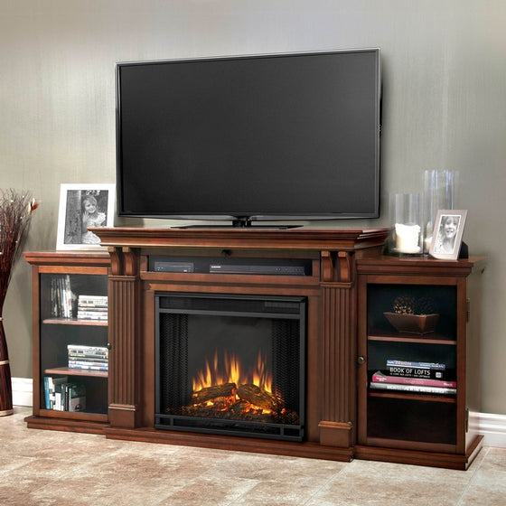 Real Flame 7720E Calie Entertainment Electric Fireplace